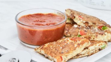 Image for Easy pizza pancakes
