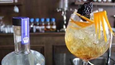 Image for QB Blackberry Zest cocktail with Queensborough gin