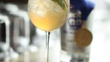 "Image for Queensborough Gin ""Double Gold"" cocktail"