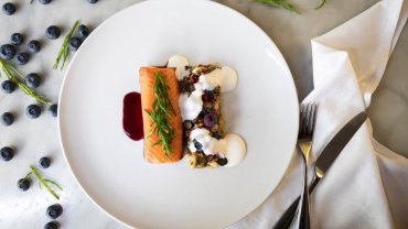 Image for Cibo's Salmon and Blueberry infused Vinegar