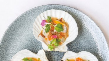 Image for Scallop Ceviche from Meanam cookbook