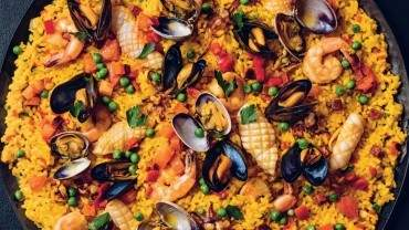 Image for David Robertson's seafood paella