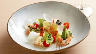 Image for The Wickaninnish Inn's sidestripe shrimp escabeche