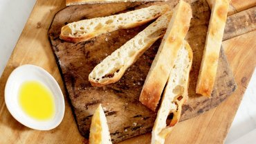 Image for Sloppy ciabatta bread from the Baking Day with Anna Olson cookbook