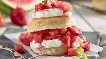 Image for Strawberry and watermelon shortcake