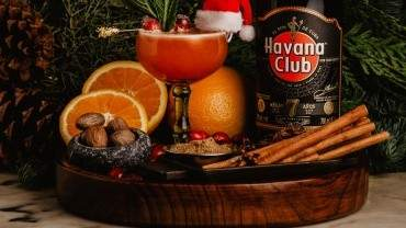 Image for Cranberry winter spiced daiquiri