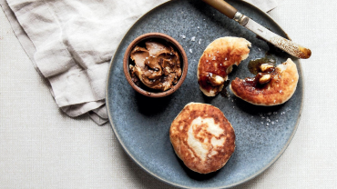 Image for Toutons with molasses butter from A Rising Tide cookbook