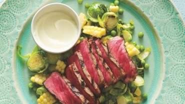 Image for Ricardo's wasabi-marinated steak