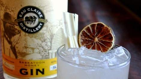 Image for Eau Claire Distillery Saskatoon Honey Gin Gimlet