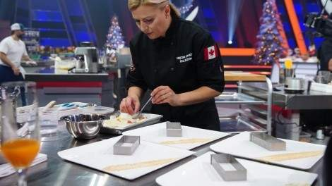 Image for Pastry chef and cookbook author Anna Olson on Iron Chef Canada and the fundamentals of baking