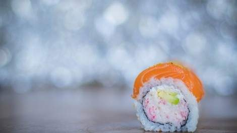 """Image for Canadian food DYK: Vancouver chef Hidekazu Tojo created the California roll and popularized the """"inside-out"""" sushi rolling technique in North America"""