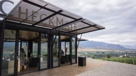 Image for Daily bite: Checkmate Winery combines the art of wine making and architecture with new tasting room