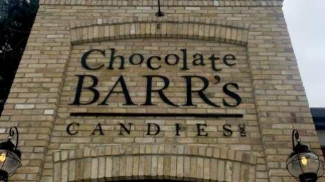 Image for Chocolate Barr's Candies balances the old and the new