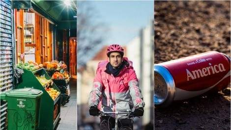 Image for ICYMI: B.C. teen fights against food waste, 7-eleven launches Foodora service in Canada, Greenpeace audit of plastic trash and more