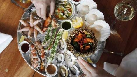 Coquille Seafood Platter. Ediblicious Photography