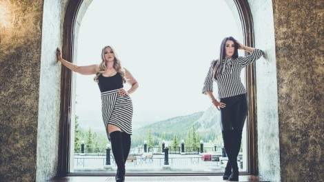 Image for One day in Regina: country duo FOXX Worthee