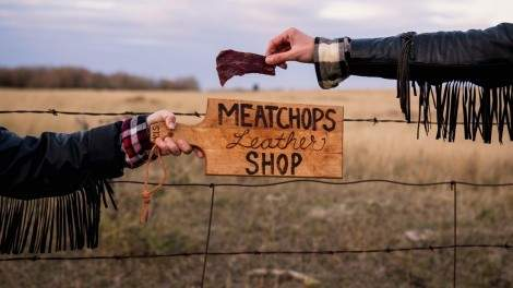 Image for Meat Chops jerky: road trip fuel that's prairie-bred, grass-fed