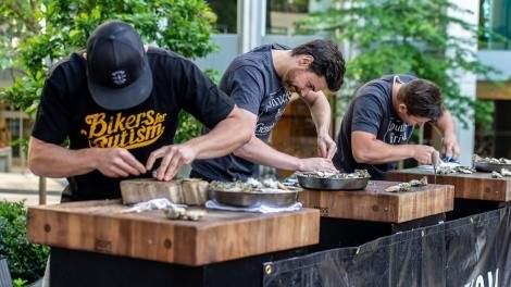 Image for Bikers For Autism announces fifth annual Shuck It Forward fundraiser