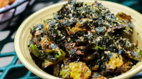 Image for Juke's crispy fried Brussels sprouts