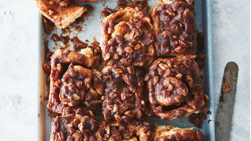 Image for Amy Rosen's perfect pecan buns