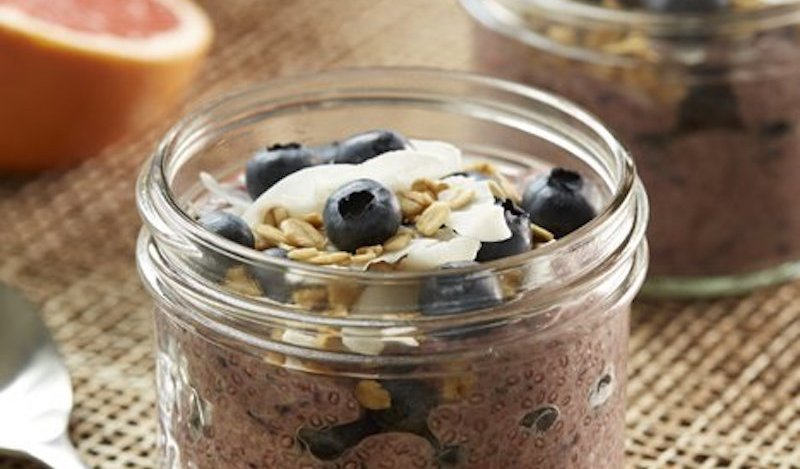 Image for Coconut chia pudding with grapefruit and B.C. blueberries