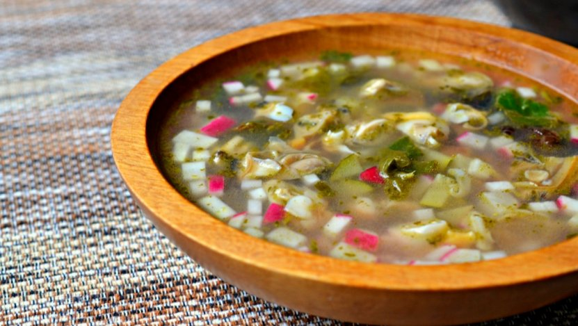 Image for Fresh summer clam soup