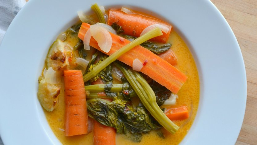 Coconut curry carrots recipe