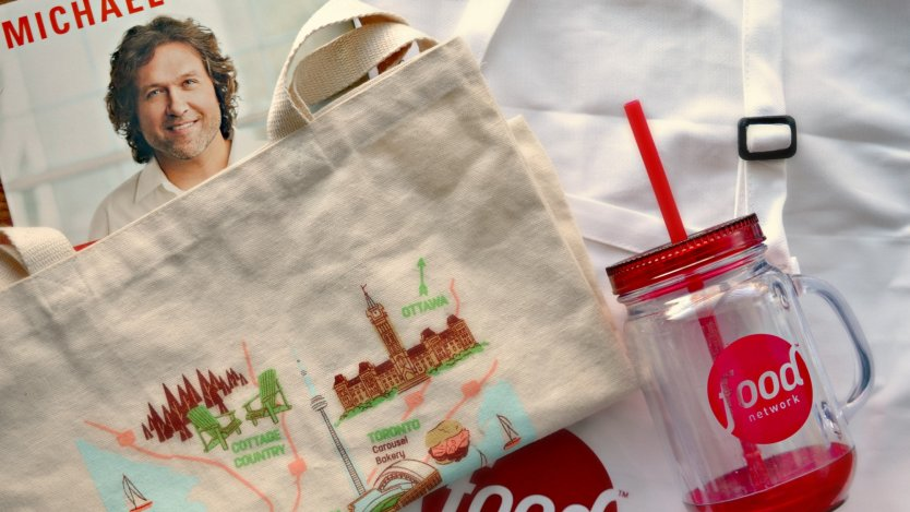 December 21st: Swag bag from Food Network Canada | Eat North