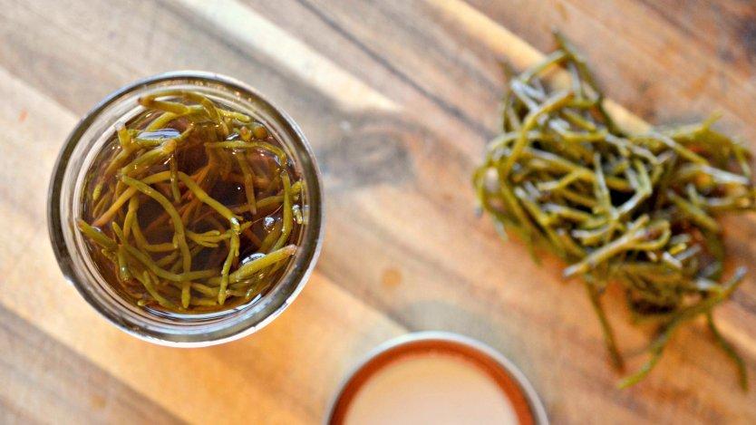 pickled sea asparagus recipe