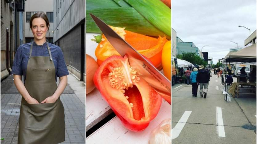 Image for ICYMI: Manitoba chefs give cooking demos at the Downtown Farmers Market, a carrot saves an engagement ring and chefs' tips on food waste reduction in this week's food news