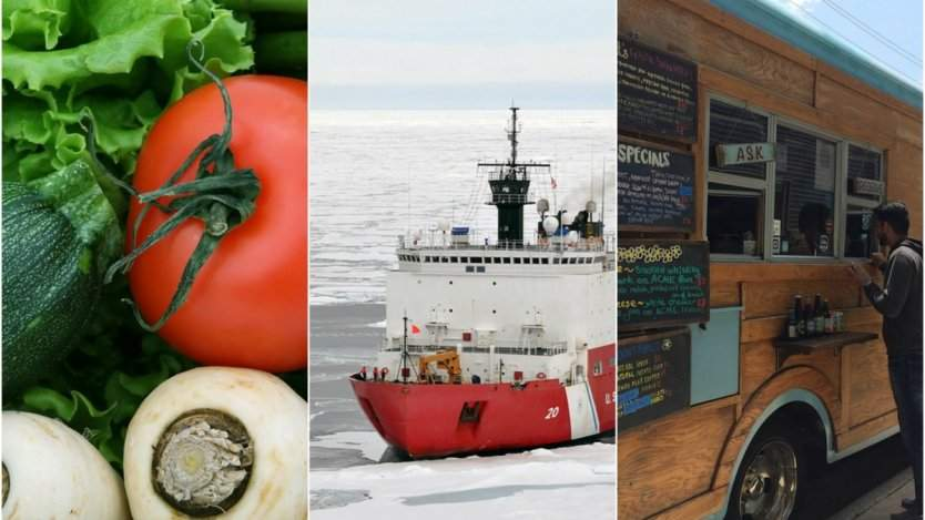 Image for ICYMI: Fresh produce in New Brunswick schools, chef Andrea Carlson cooks on an icebreaker, and the best food trucks from Winnipeg's ManyFest in this week's food news
