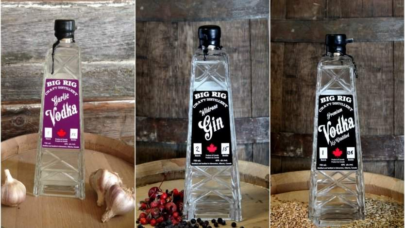 Image for The art of craft distilling at Alberta's Big Rig Craft Distillery
