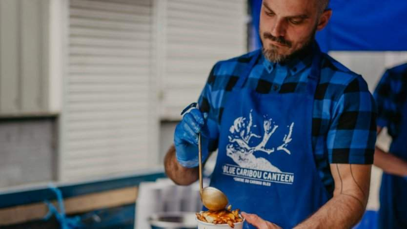Image for Canadian eatery Blue Caribou Canteen on BBC Two's My Million Pound Menu