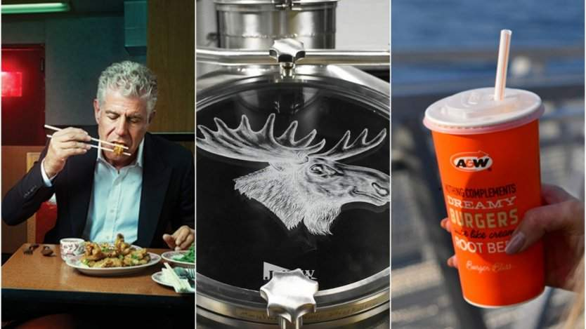 Image for ICYMI: Anthony Bourdain culinary legend passed away, Moosehead taps into craft beer market, A&W is going straw free and more