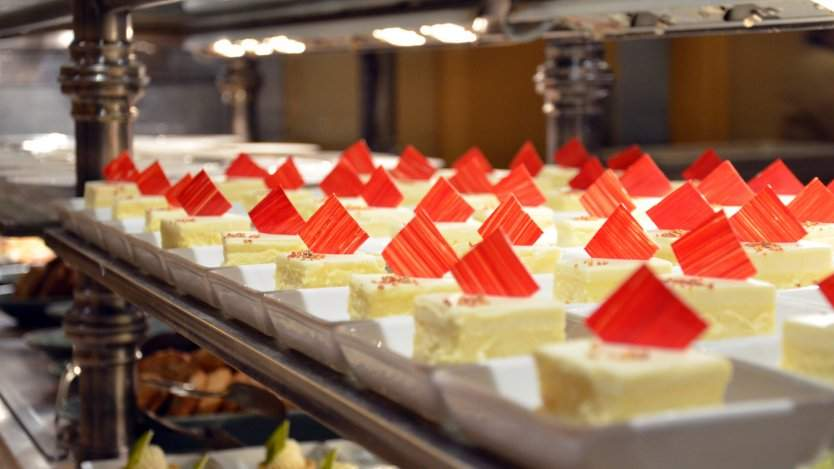 Dessert buffet at Bellagio in Las Vegas. Photo by Michael Kappel on Flickr.
