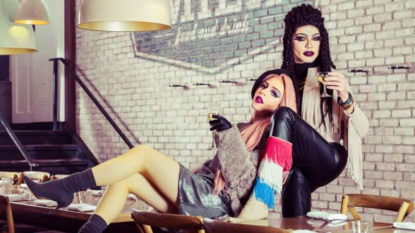 Image for Calgary queens dish on life in drag, restaurant etiquette and finding true love