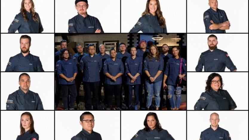 Top Chef Canada All Stars chefs