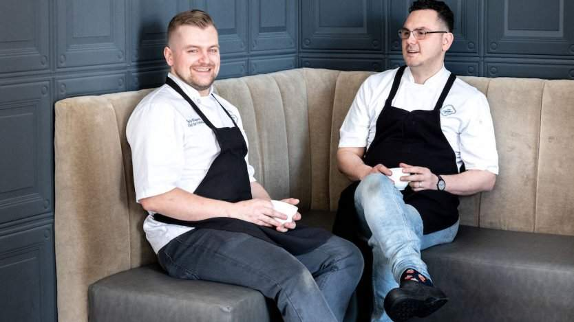 Image for Daily bite: The Courtney Room announces new co-chefs de cuisine
