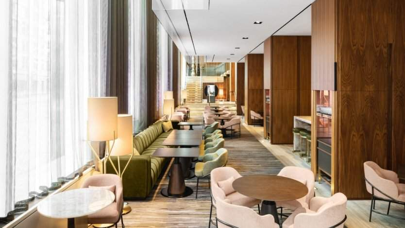 Image for Daily bite: Daniel Boulud's bar concept inside the Four Seasons Hotel Toronto re-conceives