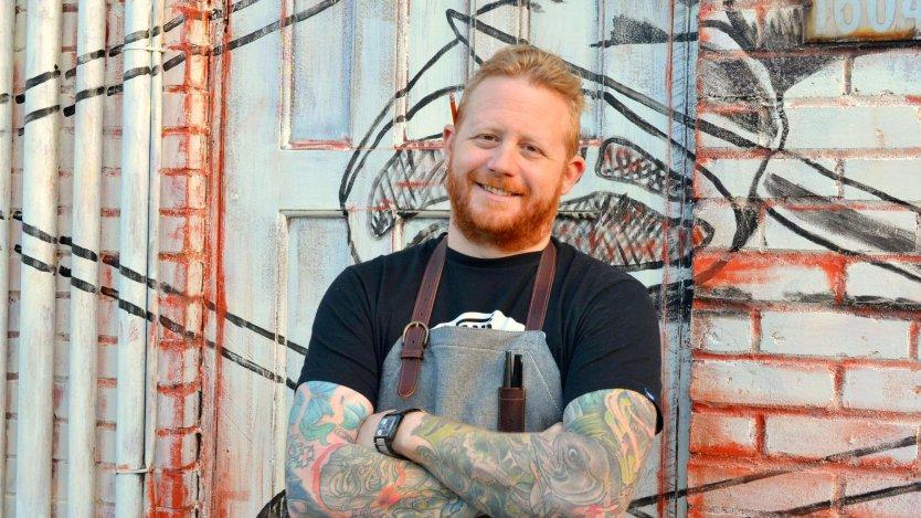 Chef Derek Dammann of Maison Publique