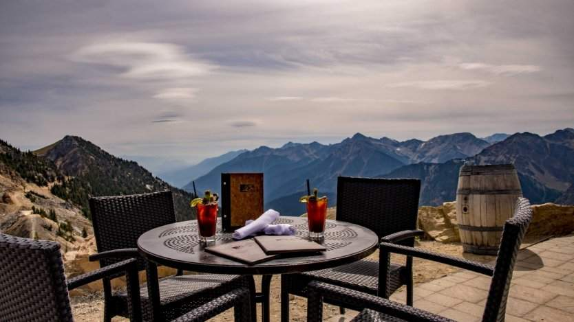 Image for Canadian food DYK: Eagle's Eye Restaurant in Golden, BC is Canada's highest elevation eatery