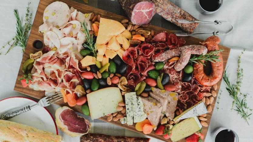Charcuterie from Empire Provisions in Calgary.