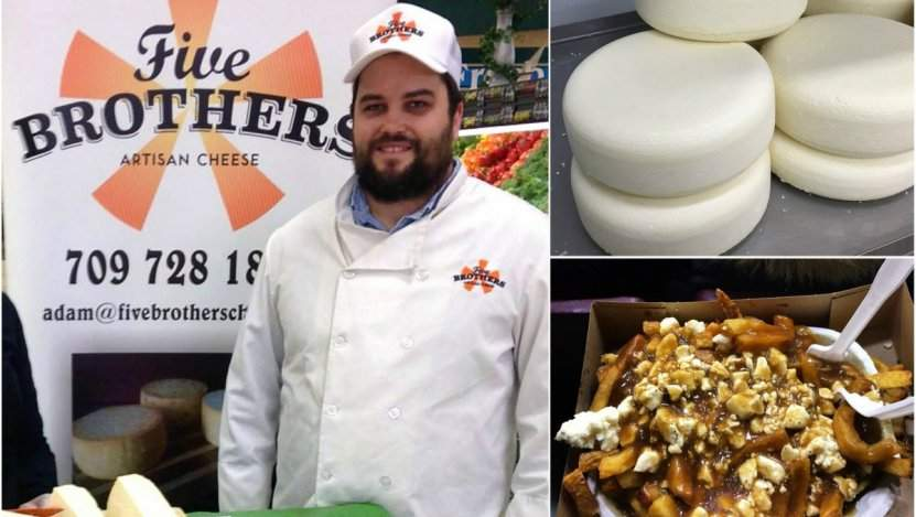 Image for Five Brothers Artisan Cheese: Newfoundland's Only Cheese Producer