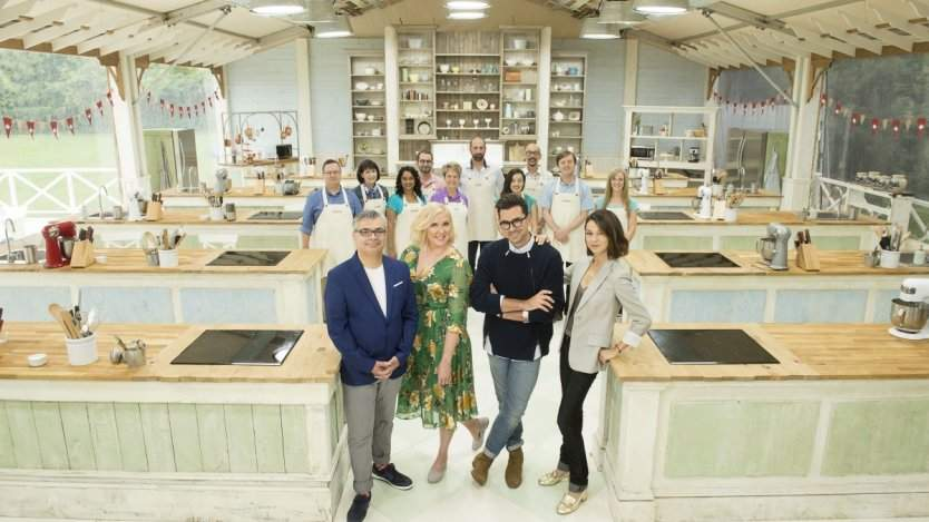 Front left to right: Bruno, Rochelle, Dan, Julia. Photo courtesy of CBC.