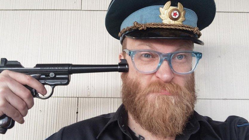 Image for One day in Calgary: Cowpuncher vocalist Matt Olah