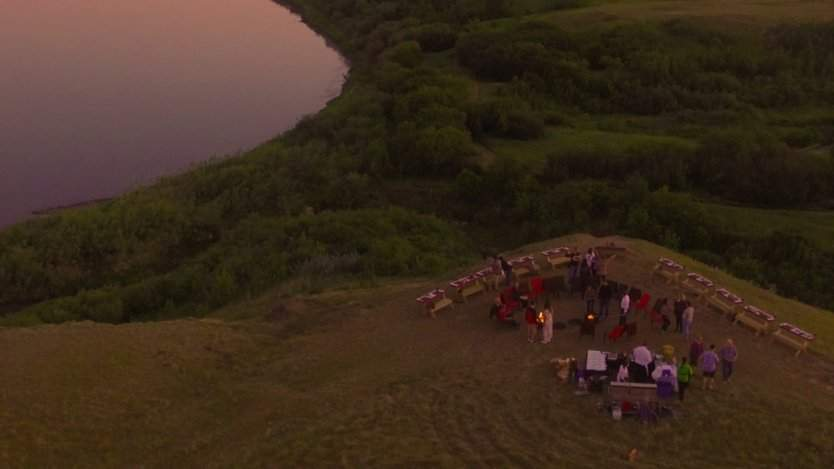 Image for Han Wi Moon Dinner combines wild foraged foods with modern culinary methods at Wanuskewin Heritage Park