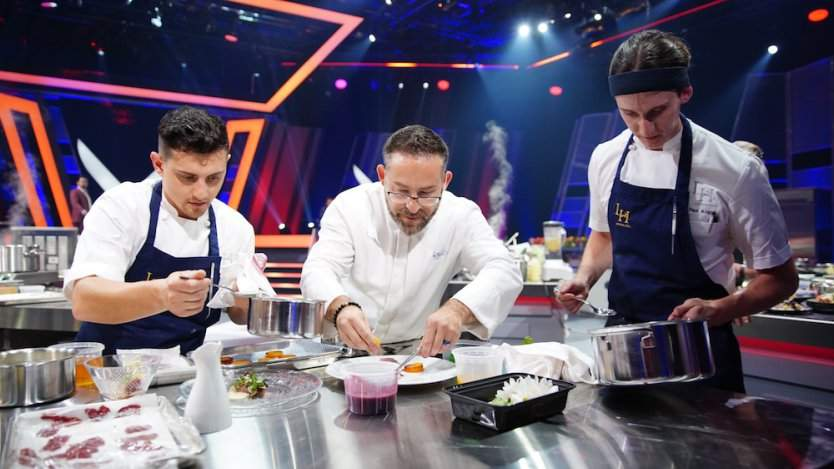Image for Daily bite: Chef Bangerter and his team win in the epic relaunch of Iron Chef Canada