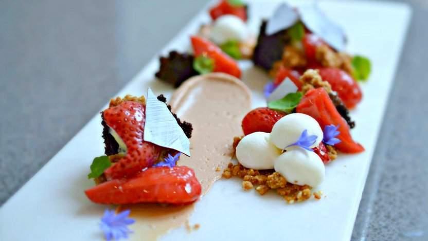 Kira Desmond's dessert at Secret Location
