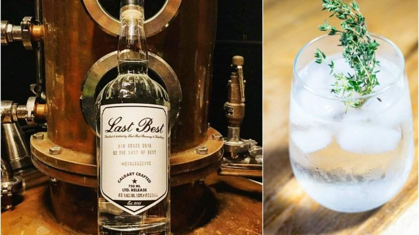 Image for Daily bite: Last Best Brewing and Distilling wraps #gincrazeyyc with limited edition gin