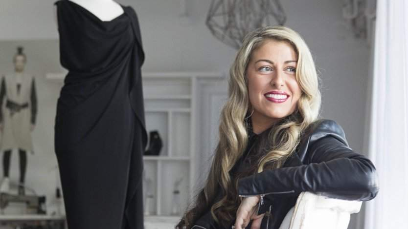 Image for One day in Calgary: fashion designer Lauren Bagliore